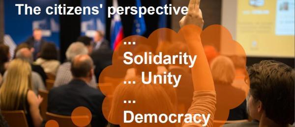De la o Europă mai mare spre o Europă mai bună | Dialogul cu cetăţenii