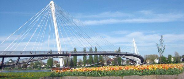 Podul dintre Strasbourg (Franta) si Kehl (Germania) – o emblema a colaborarii europene