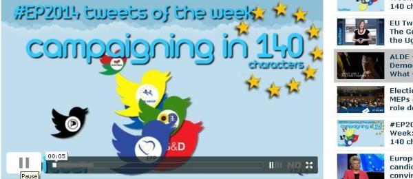 Campania EP2014 pe Twitter – Cine sunt castigatorii si perdantii alegerilor?