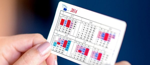 Componenta noului Parlament European   Calendarul parlamentar