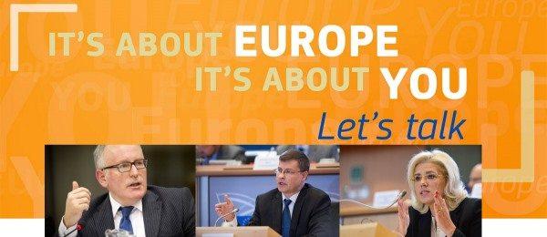 Comisarul european Corina Cretu, alaturi de Frans Timmermans si Valdis Dombrovskis, lanseaza la Riga o noua serie de dialoguri cu cetatenii UE