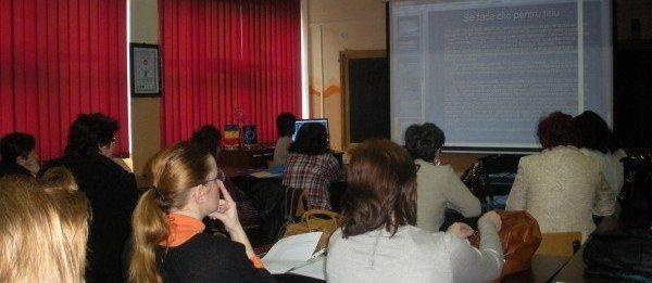 Educatia pentru dezvoltare, la Colegiul Mircea Eliade din Resita