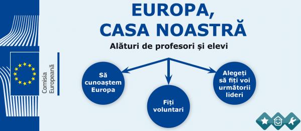 Concursul Lider European, o oportunitate pentru dascali si elevii claselor IX-XII