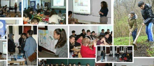 "Ecologie, migratie, dezvoltare: activitati derulate de Europe Direct Timisoara  in saptamana ""Scolii Altfel"""