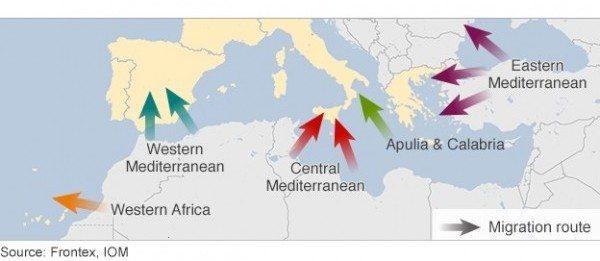Comisia Europeana propune masuri pentru depasirea crizei imigratiei din Marea Mediterana. Printre acestea, distrugerea ambarcatiunilor traficantilor de persoane si introducerea unui mecanism UE de relocare de urgenta