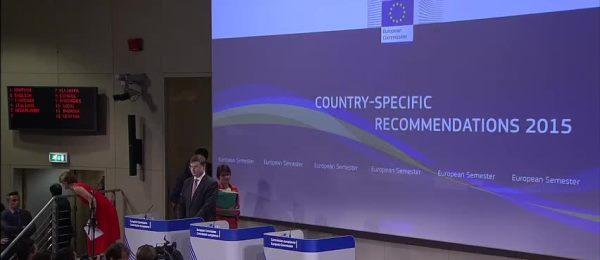 Comisia adresează României recomandări specifice în 4 domenii pentru 2015/2016