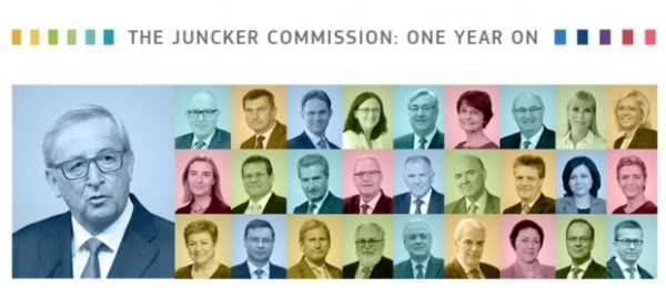 Juncker Commission first year