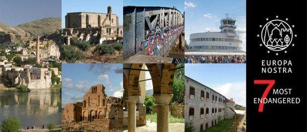Cele mai periclitate 7 situri și monumente din Europa