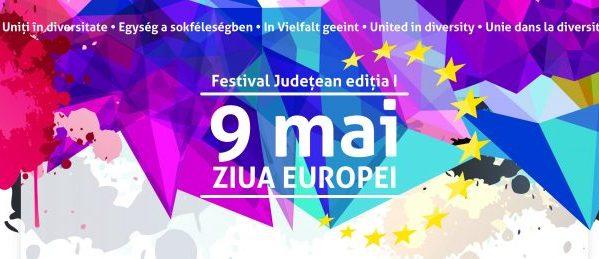 Primul Festival județean dedicat Zilei Europei, la Reșița | Fotoreportaj Europe Direct Timișoara