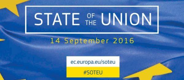 Discursul privind Starea Uniunii Europene 2016 #SOTEU – INREGISTRARE