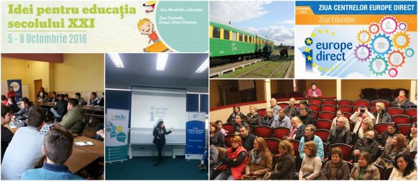 Idei pentru educația secolului 21 – octombrie 2016 | Fotoreportaj Europe Direct Timisoara