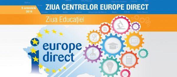 Ziua Centrelor Europe Direct România, Ziua Educației