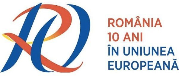 Un logo pentru marcarea a 10 ani de la aderarea României la Uniunea Europeană