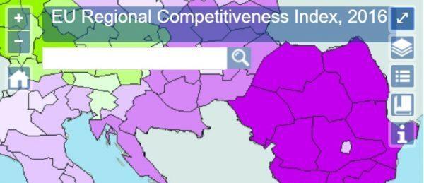 Indicele competitivității regionale 2016: cât de competitivă este regiunea dumneavoastră?