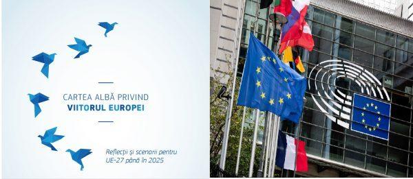 Cartea albă: cinci scenarii pentru viitorul Uniunii Europene #UE27 și cinci domenii de reflecție