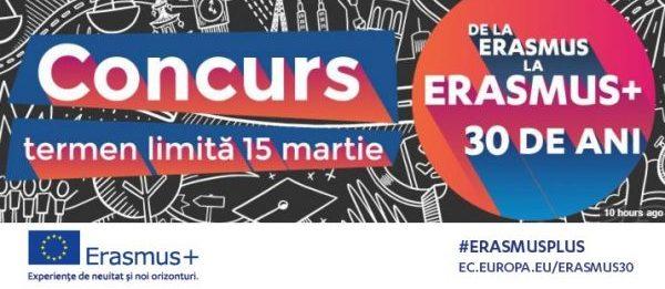 30 de cuvinte pentru Erasmus+: Participă la concurs și câștigă o excursie la Bruxelles
