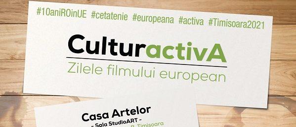 """Poveștile Europei, o sursă de inspirație pentru a deveni cetățeni responsabili și activi: """"CulturActivA"""" – Zilele filmului european"""