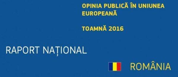 Raport de țară comparativ 2007-2017: percepția românilor asupra priorităților Uniunii, încrederea în instituțiile europene și naționale