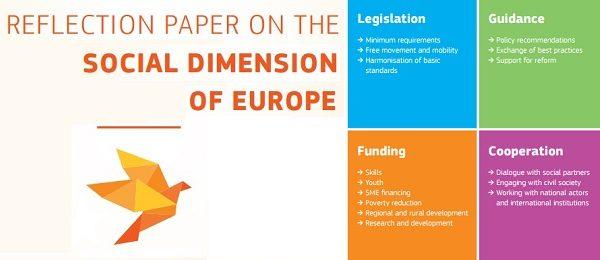 Europa, invitată la reflecție și dialog cu privire la dimensiunea ei sociala
