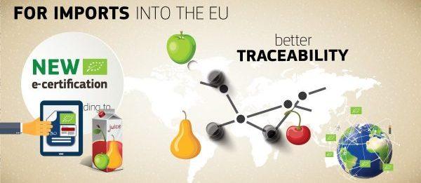 Din 19 octombrie 2017, importurile de produse ecologice vor fi acoperite doar prin noul sistem de certificare electronică