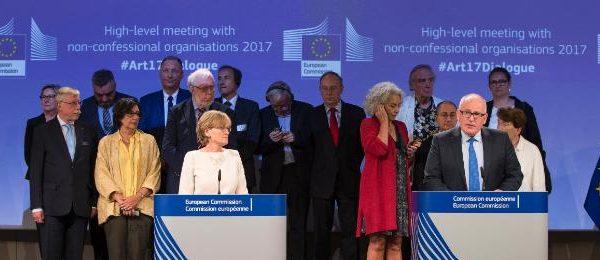 """""""Viitorul Europei: o Uniune eficientă și bazată pe valori"""" – Comisia în dialog cu liderii organizațiilor filosofice și religioase"""