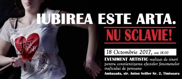 Ziua Europeană de luptă împotriva traficului de persoane | Eveniment local, acțiune globală